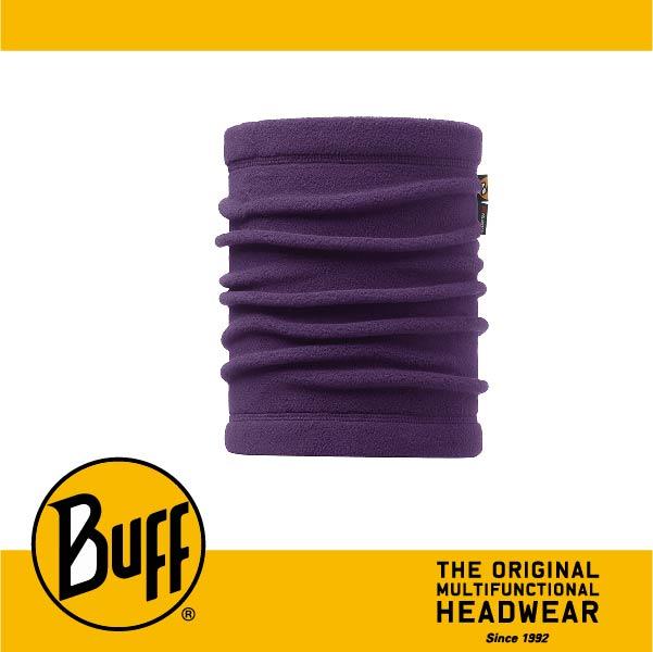 BUFF 西班牙魔術頭巾 POLAR保暖系列 領巾 [莓紫素面] BF113125-541-10