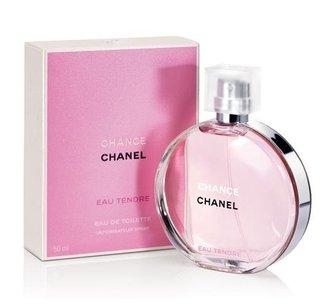 香水1986☆CHANEL CHANCE 香奈兒粉紅甜蜜版女性淡香水 5ml 香水分裝瓶