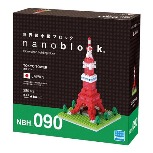 《Nano Block迷你積木》NBH-090 東京鐵塔 ( 2015年新款 )