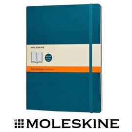 義大利 MOLESKINE 67323753 彩色橫條筆記本 / 軟式 / 藍 / XL