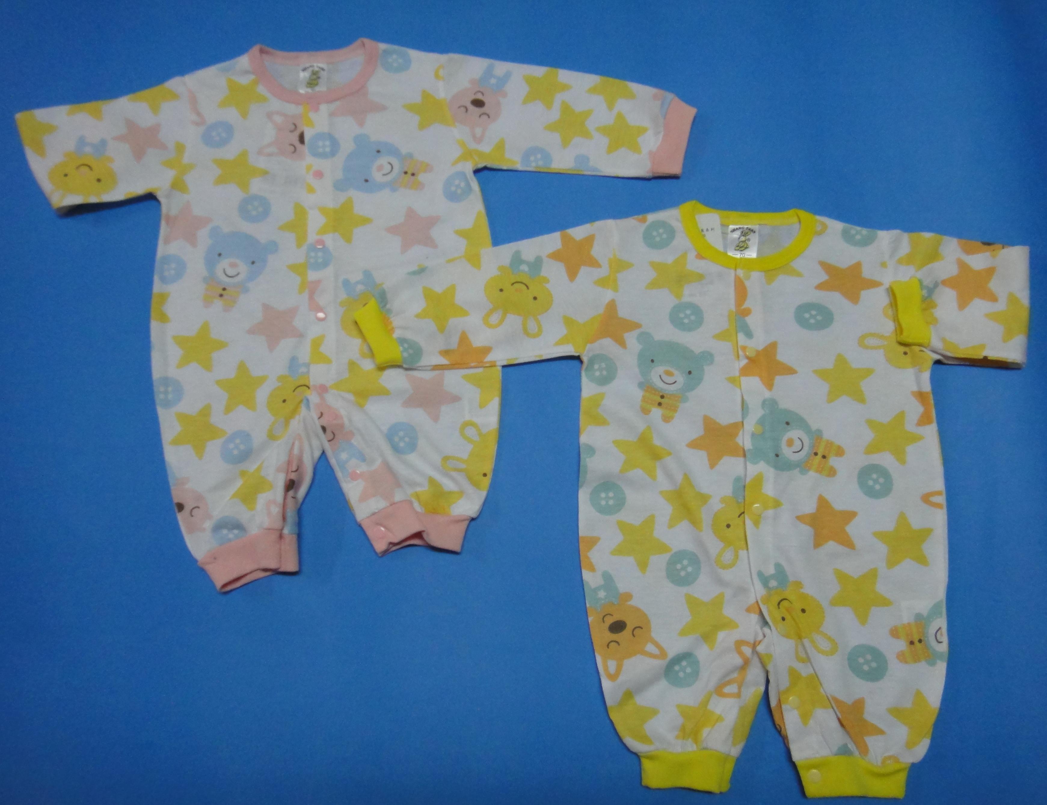 新款春秋季連身褲~星星、小熊