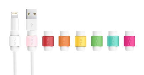 好評熱銷 8色可選 i線套Apple傳輸線救星 適用 iPhone iPad iPod 現貨+預購