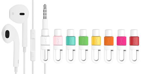 好評熱銷 8色可選 i線套Tunes Apple耳機線救星 集線器 適用 iPhone iPad iPod