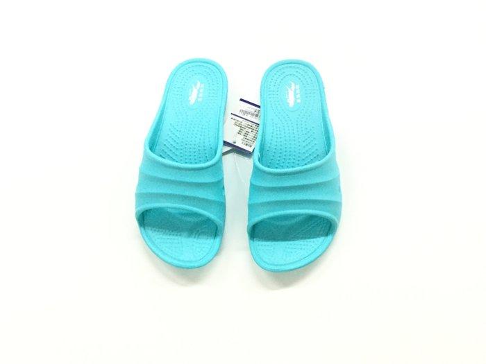 ※555鞋※水藍色 母子鱷魚 馬卡龍色 浴室 海灘 防水 拖鞋 一體成形 氣墊 超舒適運動休閒拖鞋