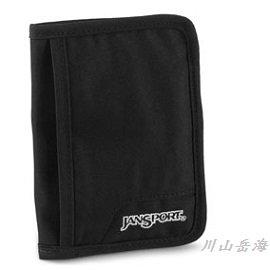 [ JANSPORT ] 護照套 黑色 / 証件包 / 出國旅行 / 公司貨 JS-43061