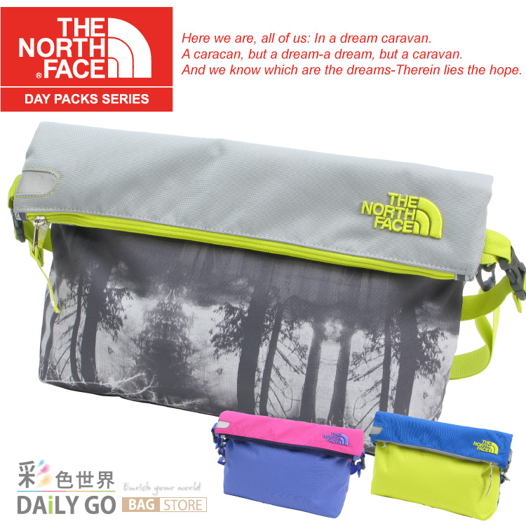 THE NORTH FACE 側背包-多色 A1L8