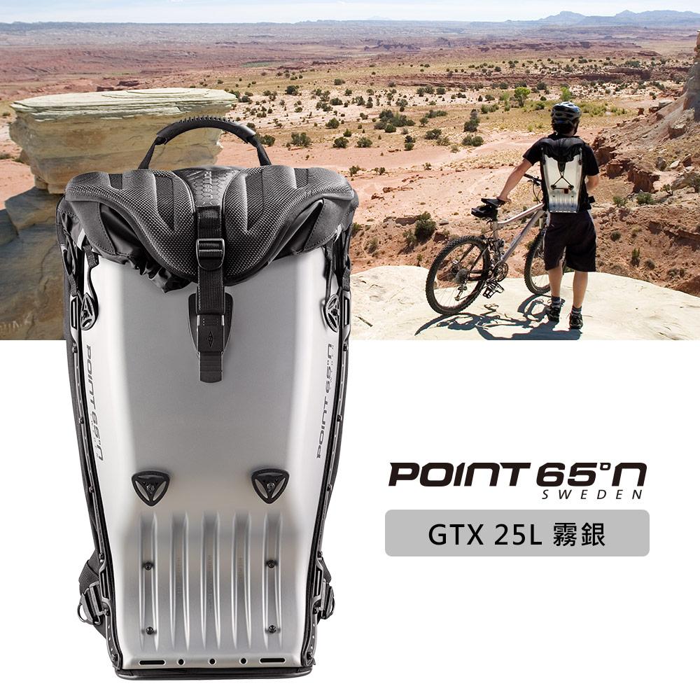 【POINT 65°N】瑞典寶麗包GTX 25L硬殼後背包-霧銀