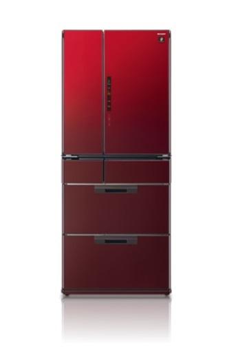 SHARP 夏普 SJ-GF60X-R , SJ-GF60X 六門環保冰箱 (601L) ~日本原裝進口~ 【零利率】※熱線07-7428010