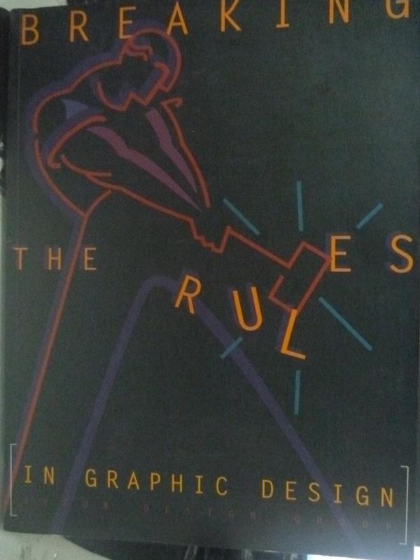 【書寶二手書T8/設計_WFS】Breaking the rules in graphic design_Supon D