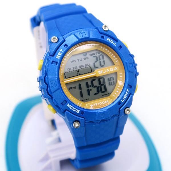 《好時光》JAGA 捷卡 M1113  亮彩色系   炫彩耀眼 多功能防水運動電子錶 兒童錶 可游泳 防水100M