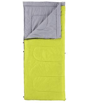 Coleman 美國 | 表演者睡袋 15-萊姆綠 信封型睡袋 輕量化纖睡袋 睡墊 | 秀山莊(CM-6930)