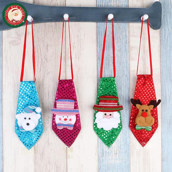 【888便利購】聖誕造型發光可愛小領帶(附電池)(多款可以挑選)(舞會派對裝飾)(大人小孩皆可戴)(量大可優惠)