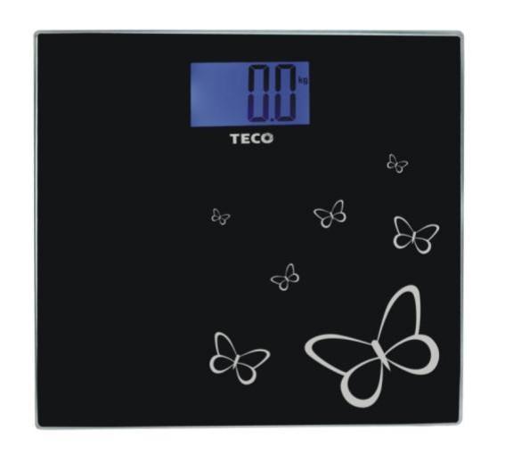 【SunEasy生活館】TECO 東元藍光時尚體重計(XYFWT486)/強化玻璃/電子秤/人體秤