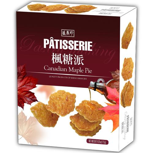 《盛香珍》Patisserie楓糖派115gX10盒入(箱)