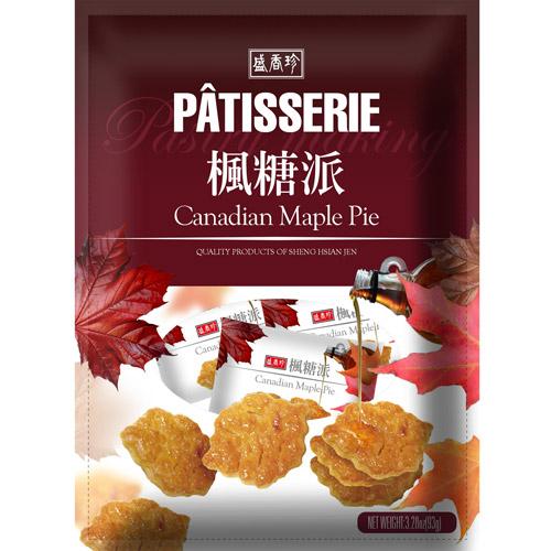 《盛香珍》Patisserie楓糖派93gX10包入(箱)