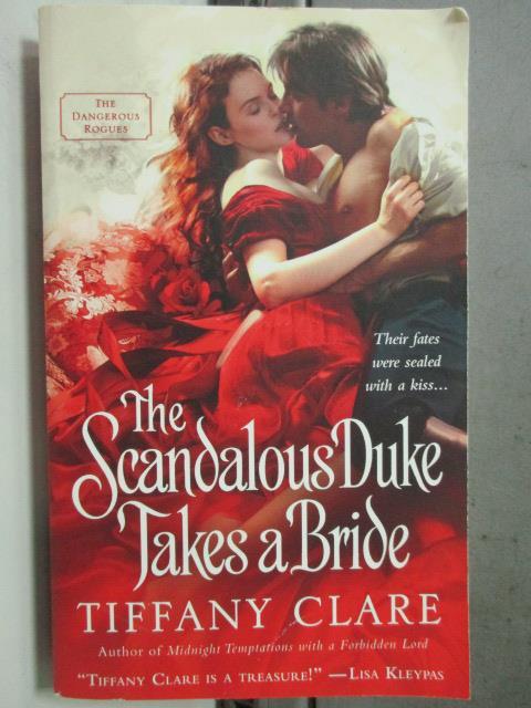 【書寶二手書T1/原文小說_HIY】The Scandalous Duke Takes a Bride_Tiffany Clare
