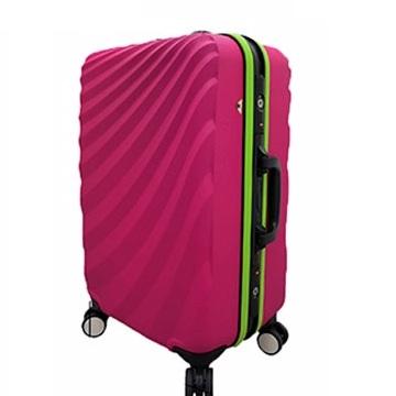 [Leadming] TSA海關鎖水波光影20吋行李箱~鋁框~超低價~有三色可選~!