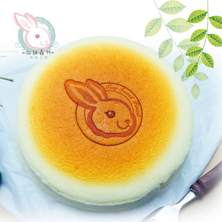 【微甜森林】大阪風味輕乳酪7吋蛋糕1入/盒(直徑約為17cm)