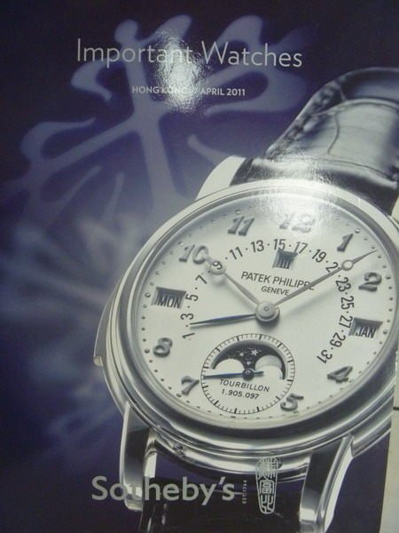 【書寶二手書T9/收藏_ZJD】Sothebys_2011/4/7_Important Watches