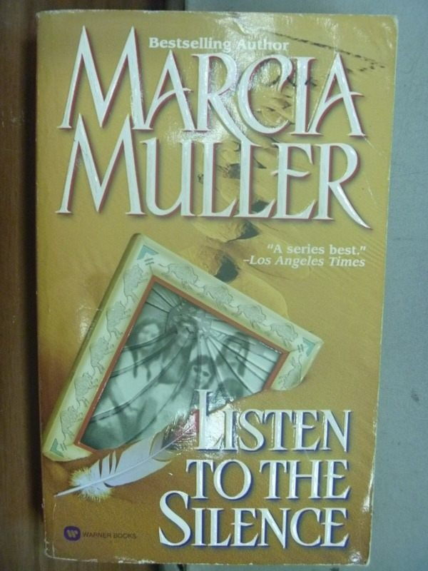 【書寶二手書T5/原文小說_ICR】Listen to the Silence_Marcia Muller