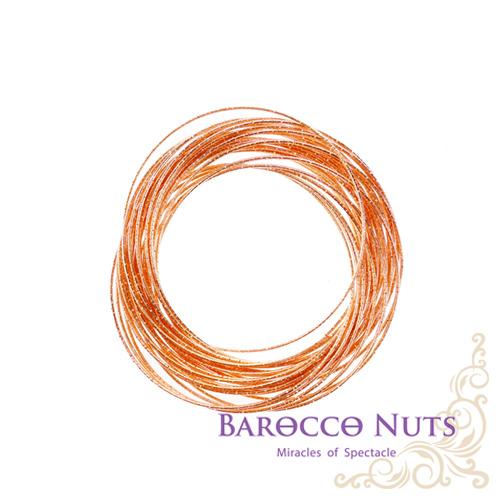 【Barocco Nuts】[造型搭配]手環系列 多層次玫瑰金手環(手鐲/歐美/派對/搭配/雍容/華貴/繽紛/奢華/大方/壓紋/優雅/典雅)