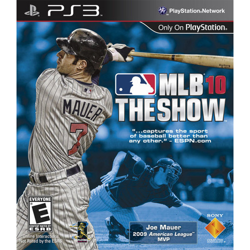 【Playwoods】[PS3遊戲]美國職棒大聯盟 職業棒球2010:MLB The Show 10 (英文亞版1080P-普級-支援震動)