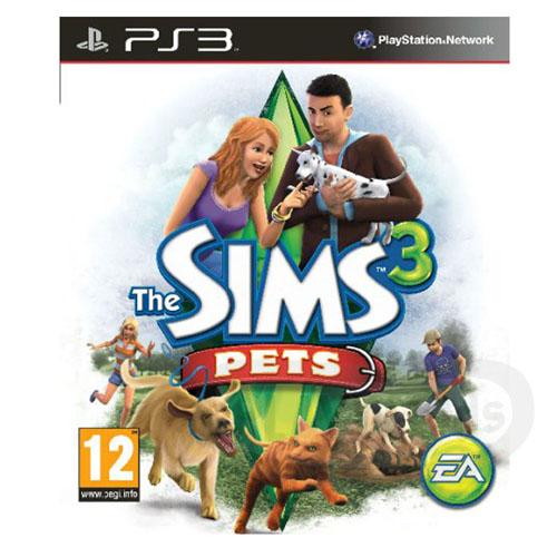 【Playwoods】[PS3遊戲]模擬市民3:完美寵物The Sims 3: Pets(英文限量版-普遍級-模擬)