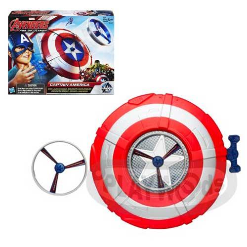【Playwoods】[復仇者聯盟2]美國隊長星型盾牌 Captain America STAR LAUNCH SHILED(孩之寶/漫威/史蒂夫)