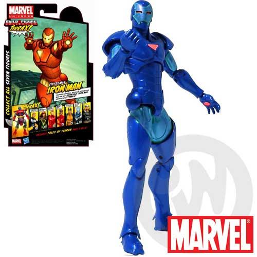 【Playwoods】[驚奇英雄Marvel Legends]Terrax Series:異色版-鋼鐵人/剛鐵人IRON MAN(3號-含TERRAX右腳)(復仇者聯盟Avengers/鋼鐵人3/Iron Man3)