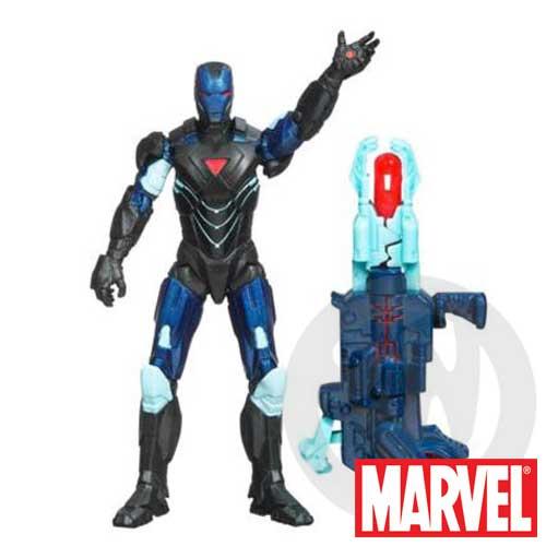 【Playwoods】[復仇者聯盟Avengers]鋼鐵人Iron Man-07馬克六號MARK VI反制衝擊裝甲版 基本人物組(驚奇英雄Marvel超人/鋼鐵人3/Iron Man3)
