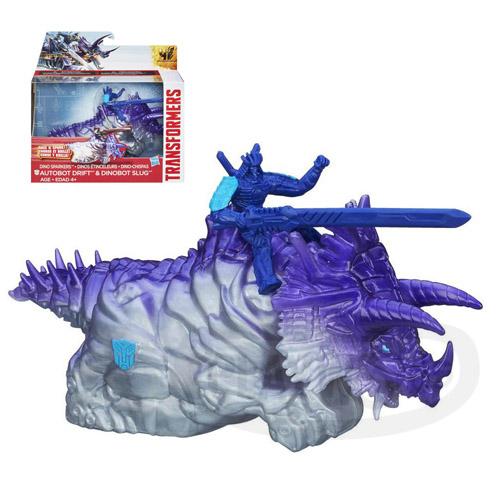 【Playwoods】[變形金剛4 絕跡重生] 火花金剛組:漂流者&恐龍鐵渣迴力車Slug&Drift(熔渣/博派/恐龍金剛/Transformer/Age Of Extinction/電影版/變型金剛/變形金鋼/孩之寶Hasbro)