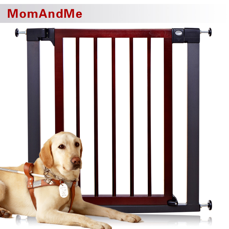 MomAndMe 嬰兒童 進口樺木 實木靜音門欄 寶寶樓梯護欄 安全門欄 狗狗柵欄 隔離門欄