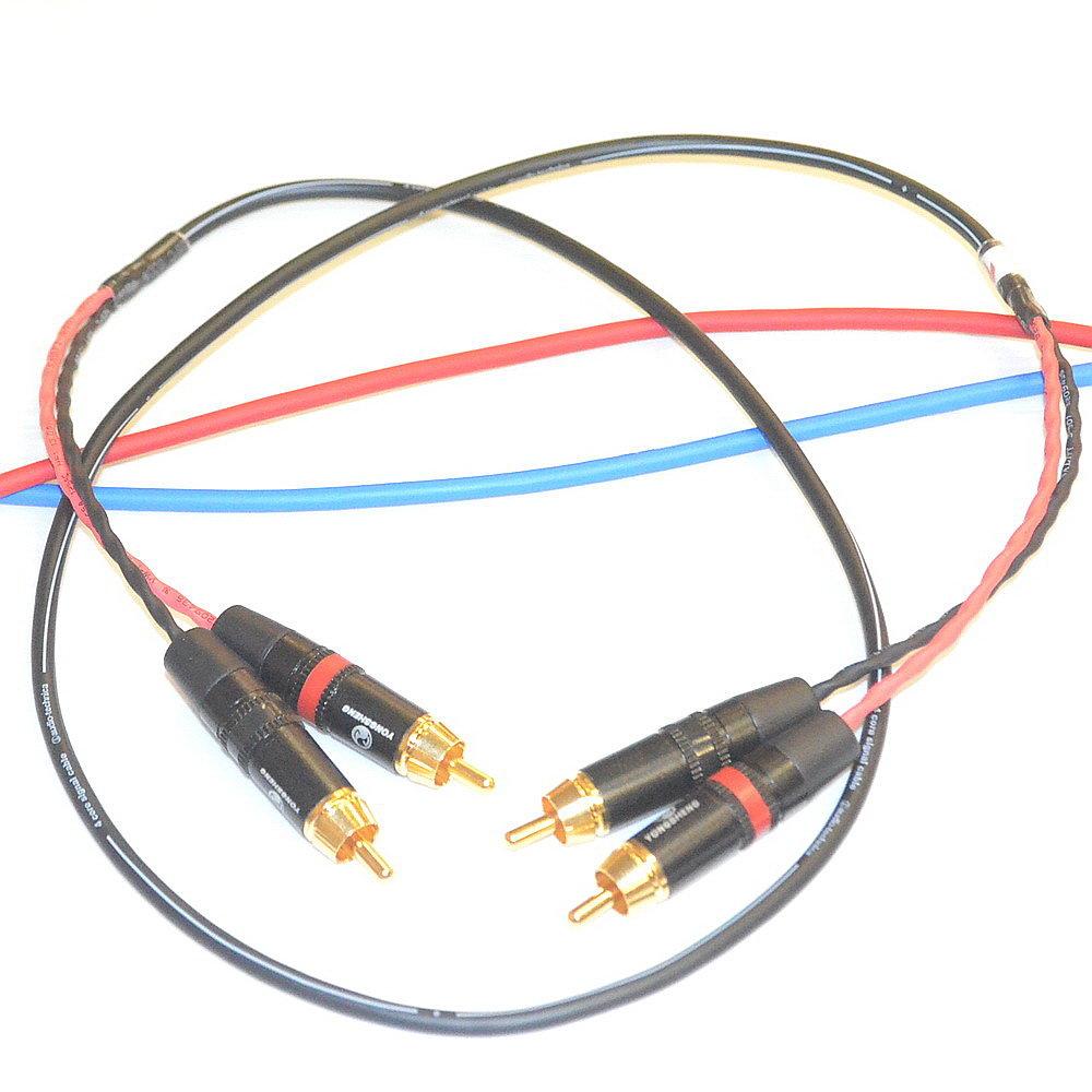 志達電子 CAB029 日本鐵三角 RCA立體(單線版)訊號線 應用於耳擴(喇叭)及訊源的連接