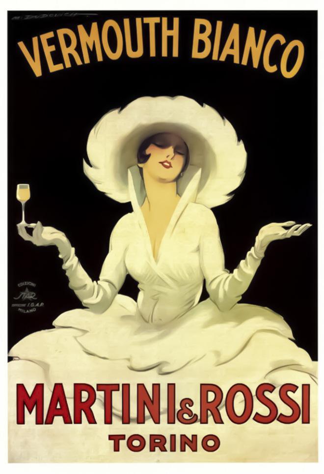 馬丁尼Martini~ 龐德最愛的調酒 (含框)
