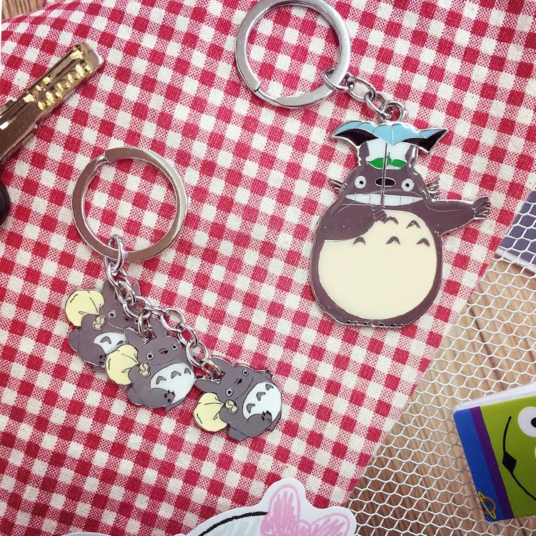 PGS7 日本卡通系列商品 - 龍貓 となりのトトロ Totoro 造型鐵片鑰匙圈 吉卜力 宮崎駿