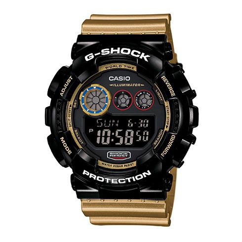 CASIO G-SHOCK GD-120CS-1數位三眼流行腕錶/51mm