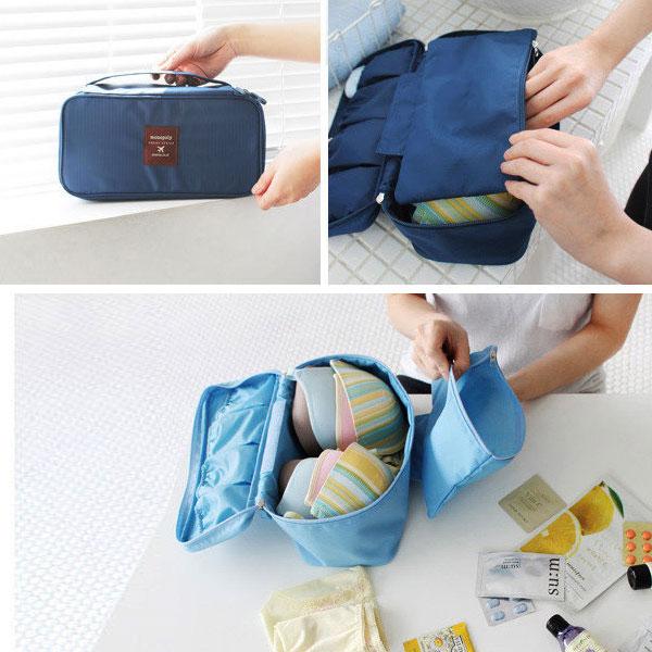 Loxin☆旅行內衣女收納包【SJ0252】胸衣胸罩旅遊收納袋 旅行行李箱收納袋
