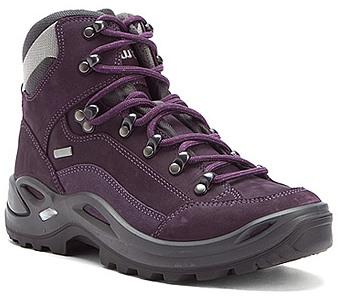 Lowa 中筒防水健行鞋 登山鞋 Renegade GTX Mid 女款 紫灰 LW320945