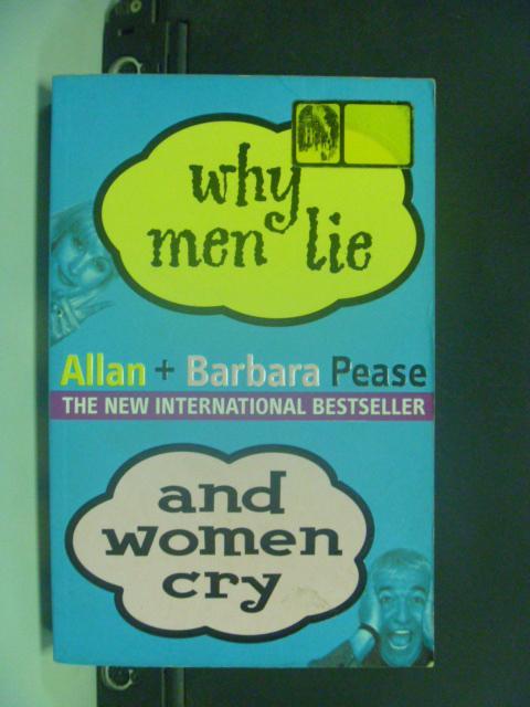 【書寶二手書T3/兩性關係_HNU】Why Men Lie and Women Cry