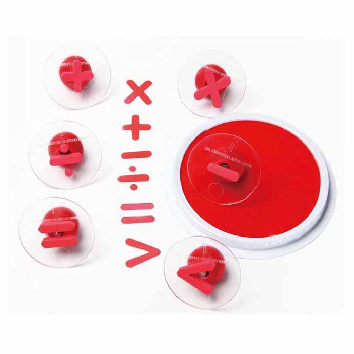 【華森葳兒童教玩具】美育教具系列-數學符號大印章 L4-CE6772