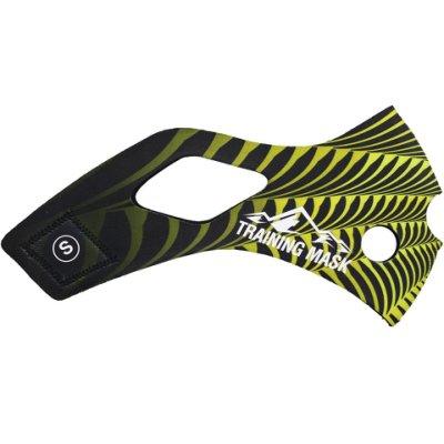 公司貨-肺活量訓練三鐵馬拉松~單車訓練高海拔面罩Training Mask面罩皮~蜜蜂面皮-M size