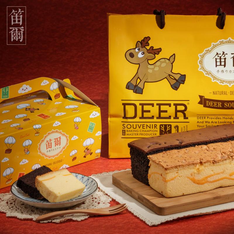超嫩感現烤蛋糕彌月禮盒(600g/盒)含包裝盒+精美紙袋-比利時巧克力、濃郁起士、南瓜乳酪、經典蜂蜜歡迎來電索取試吃-笛爾手作現烤蛋糕