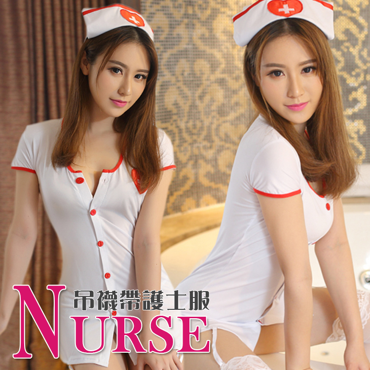 純情小護士 Cosplay護士服 水手服 派對 護士裝 跑趴 制服誘惑 變裝 角色扮演 小中大尺碼 E5311