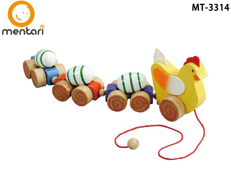咕嘰咕雞手拉車 | Mentari 嬰幼兒系列