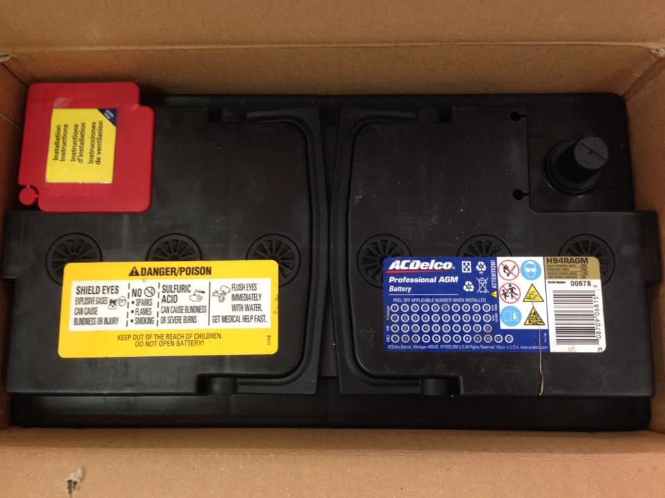 H94 AGM (80安培) 免加水汽車電池