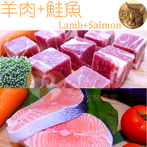 【Pets Care 貓鮮食】羊肉+鮭魚 真鮮包 每包70g 三大養生系列 貓飼料 貓罐頭 貓用品 寵物食品