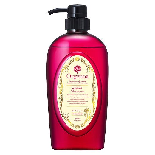 Orgenoa 寶石修護洗髮精 500ml (香草麝香)
