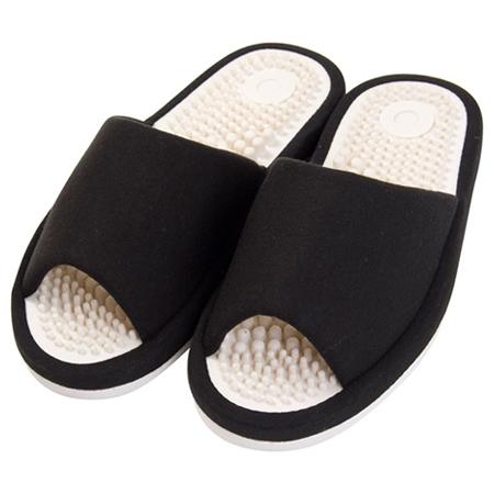 健康拖鞋 PLAIN BK L