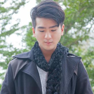 發熱圍巾(黑)