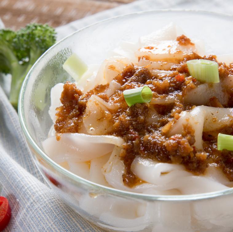 干貝XO醬粄條 | 國宴指定粄條  | 栗園米食 | 客家風味粄條